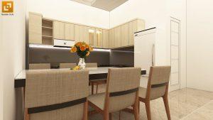 Thiết kế nhà bếp nội thất hiện đại