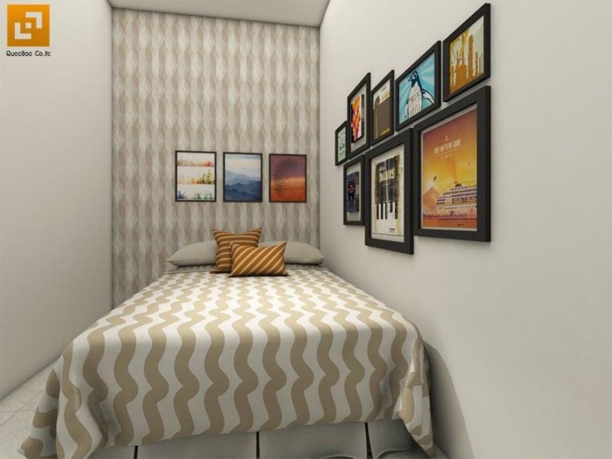 Thiết kế phòng ngủ xinh xắn