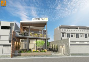 Thiết kế quán cafe The NAK Coffee tại Quận 2 - TP. HCM