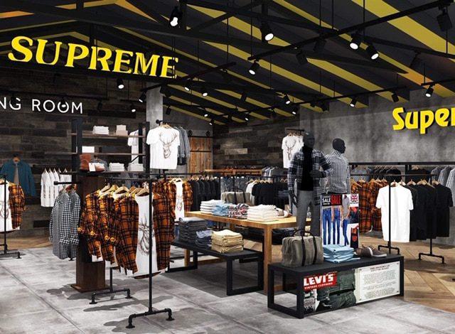 Một góc shop thời trang nam 160 Store Biên Hòa