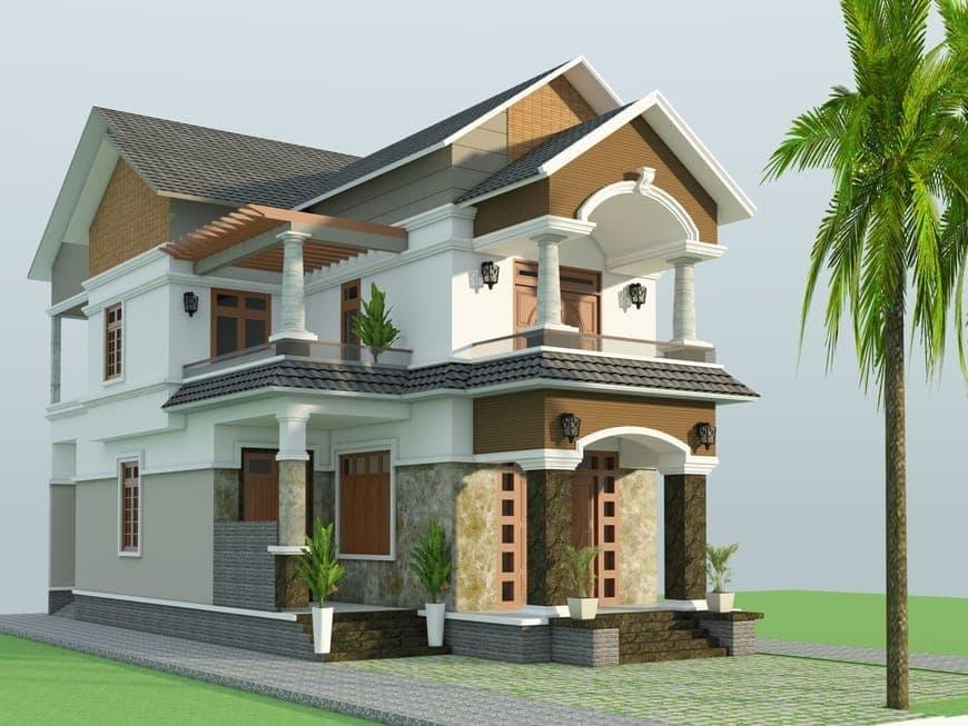 Thiết kế biệt thự gia đình anh Lê Khắc Kiệm tại Vĩnh Cửu - Đồng Nai