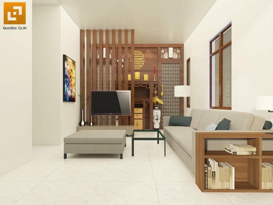 Nội thất phòng khách Biệt thự nhà vườn tại Trảng Bom