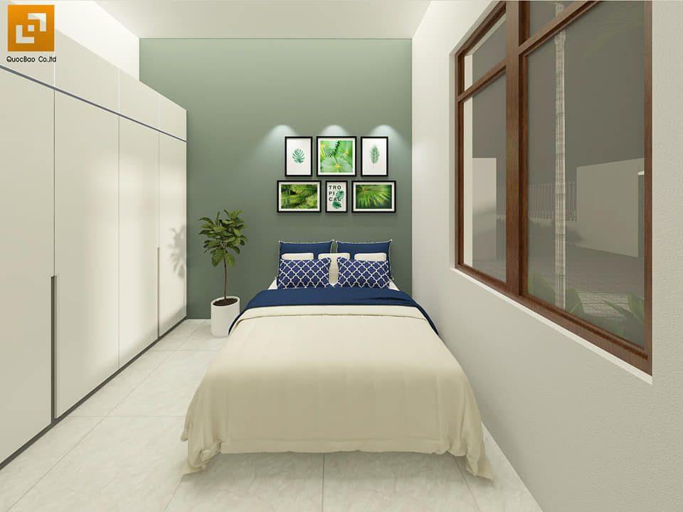 Thiết kế phòng ngủ Biệt thự nhà vườn