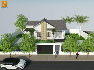 Thiết kế biệt thự nhà vườn gia đình anh Vương tại Trảng Bom