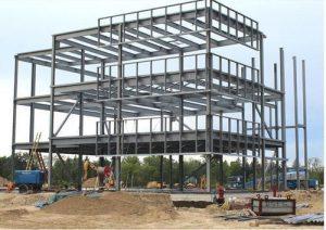 Thi công xây dựng nhà xưởng tại Dĩ An - Bình Dương - Ảnh công trường 5