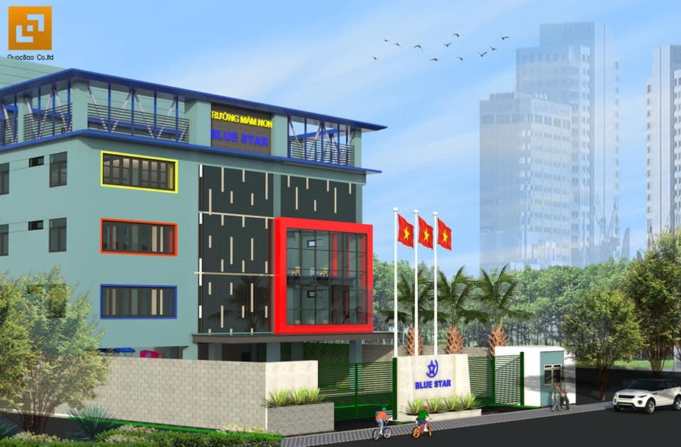 Trường mầm non song ngữ Ánh Sao Xanh là trường mầm non lớn nhất Tp. Biên Hòa khi hoàn thiện