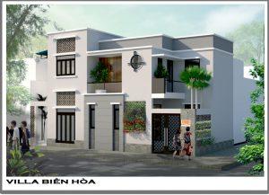 Thiết kế Villa hiện đại anh Khánh tại Tam Hiệp – Biên Hòa - Đồng Nai