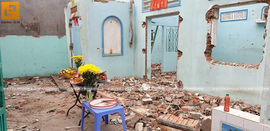 Khởi công xây nhà phố 2 tầng anh Thiện tại Biên Hòa - Ảnh 1