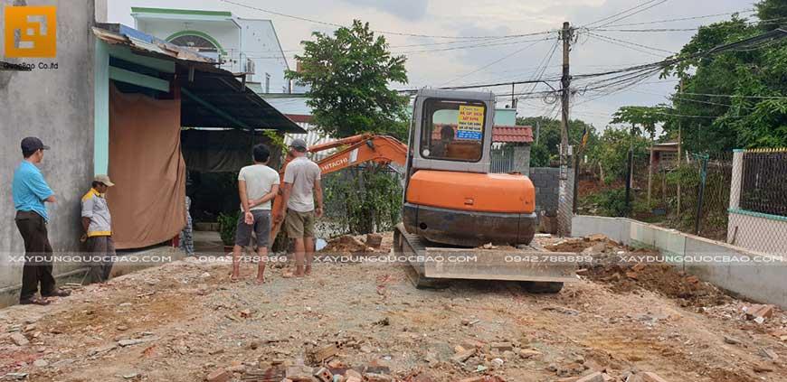 Khởi công xây nhà phố 2 tầng anh Thiện tại Biên Hòa - Ảnh 2