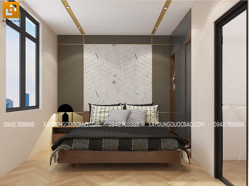 Nội thất phòng ngủ của con trai