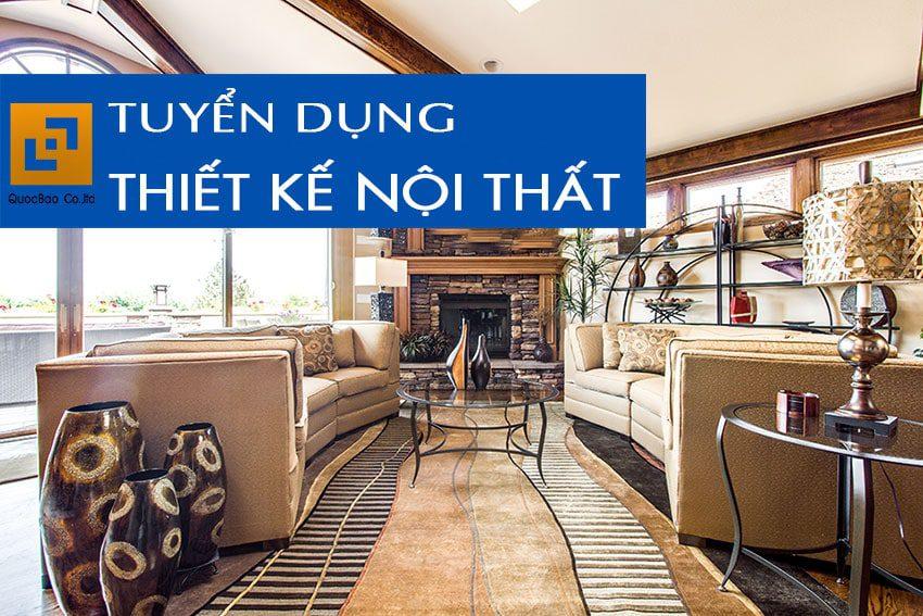 Tuyển dụng Họa viên Thiết kế nội thất tại Tp. Biên Hòa, T. Đồng Nai