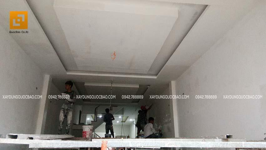 Thi công phần hoàn thiện nhà phố 4 tầng - Ảnh 16