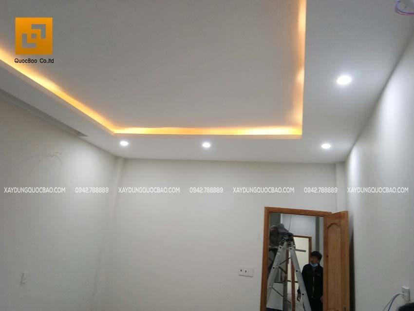 Thi công phần hoàn thiện nhà phố 4 tầng - Ảnh 24
