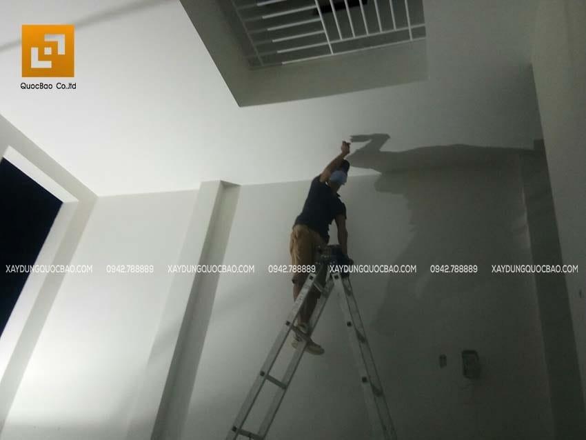 Thi công phần hoàn thiện nhà phố 4 tầng - Ảnh 18
