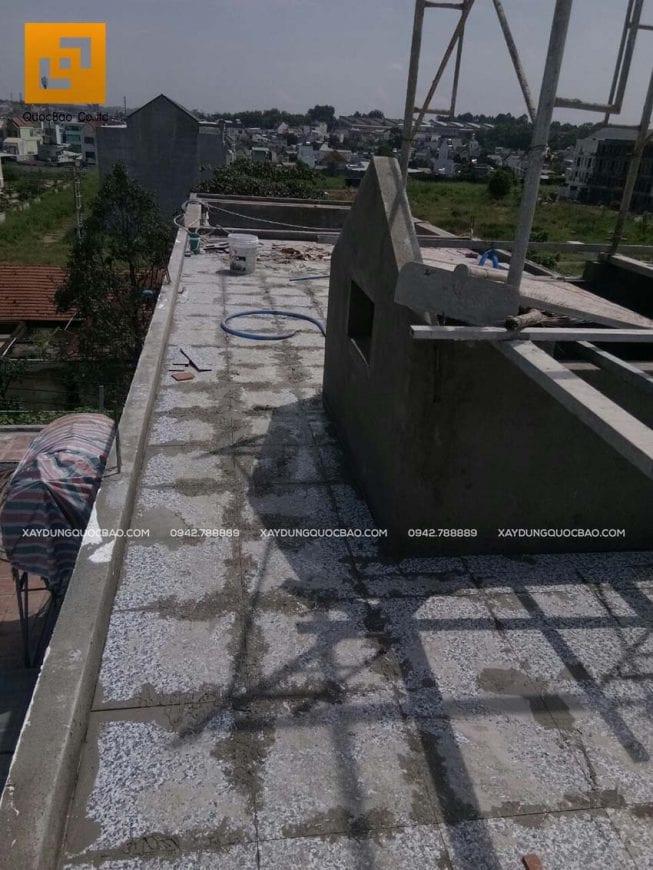 Thi công phần hoàn thiện nhà phố 4 tầng - Ảnh 13