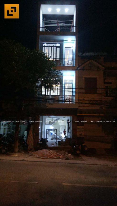 Thi công phần hoàn thiện nhà phố 4 tầng - Ảnh 4
