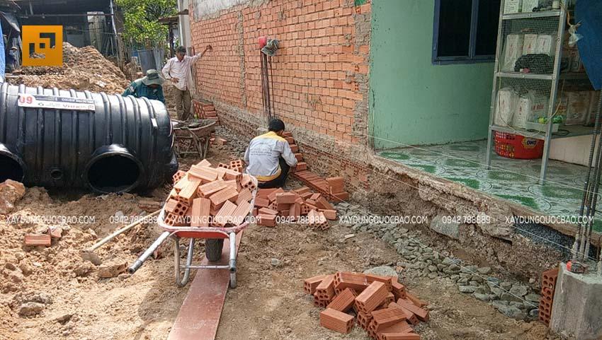 Thi công móng nhà và công trình ngầm - Ảnh 7