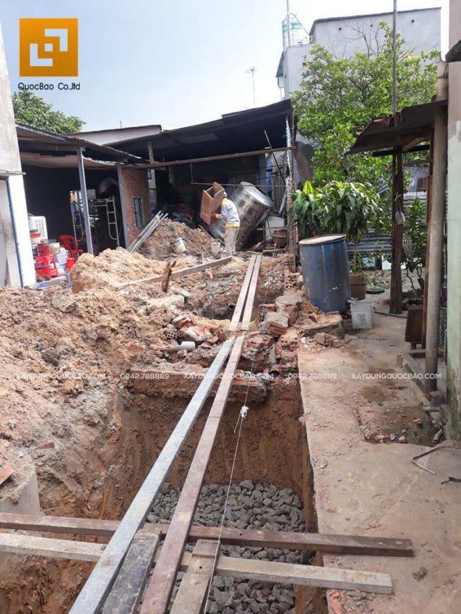 Thi công móng nhà và công trình ngầm - Ảnh 4