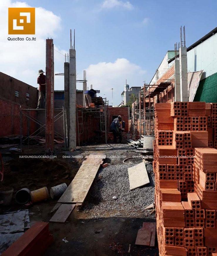 Thi công móng nhà và công trình ngầm - Ảnh 9