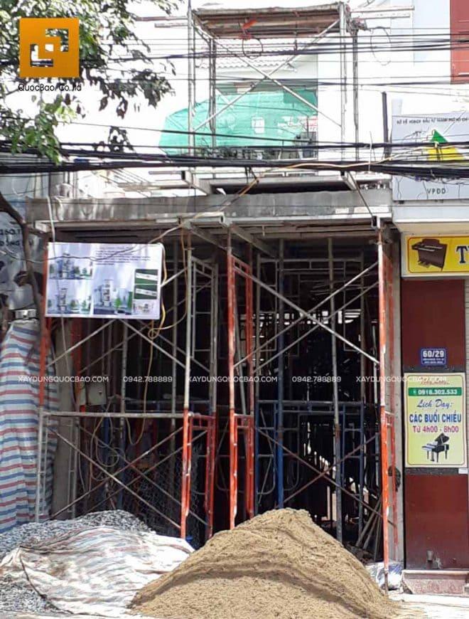 Thi công phần thô nhà 4 tầng - Ảnh 6