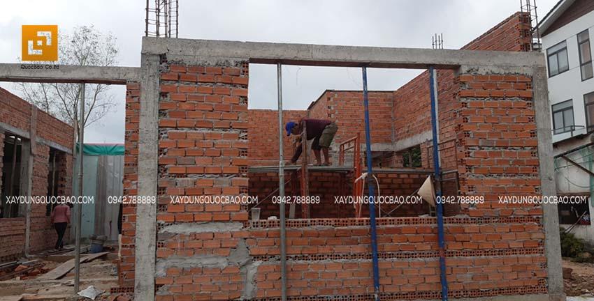 Thi công nhà phố tại nhơn Trạch - Ảnh 04