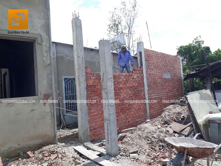 Thi công nhà phố tại nhơn Trạch - Ảnh 02