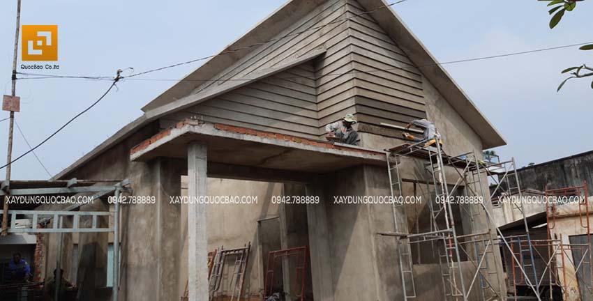 Thi công nhà phố tại nhơn Trạch - Ảnh 14