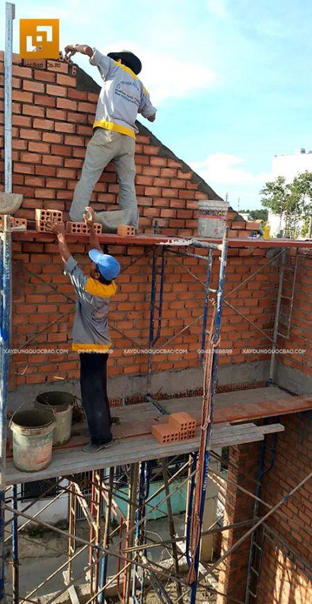 Thi công xây tường bao, tường ngăn, vách ngăn - Ảnh 2