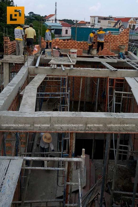 Thi công xây tường bao, tường ngăn, vách ngăn - Ảnh 1