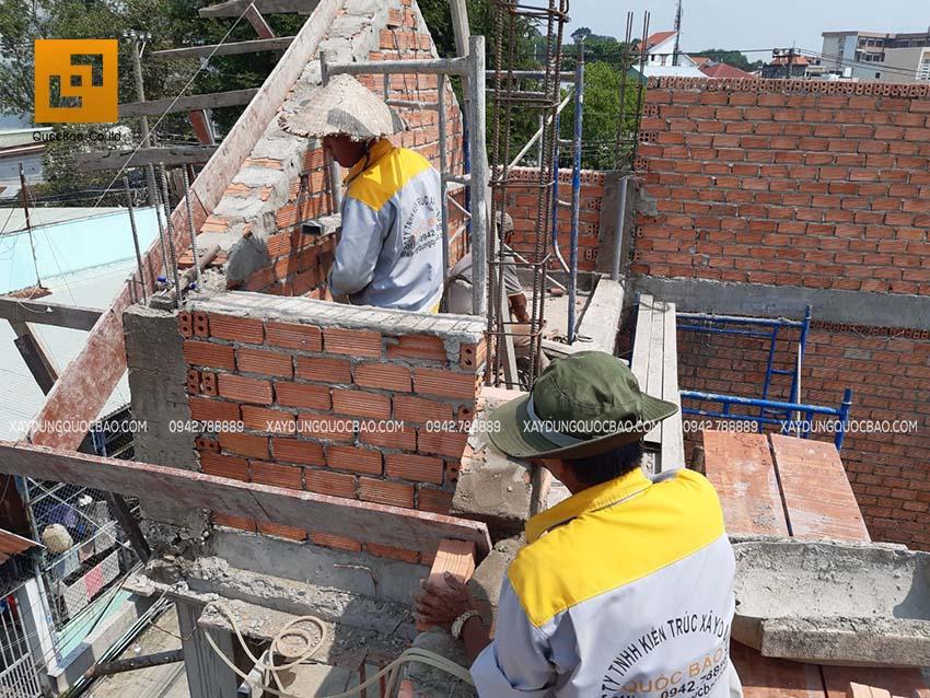 Thi công xây tường bao, tường ngăn, vách ngăn - Ảnh 3