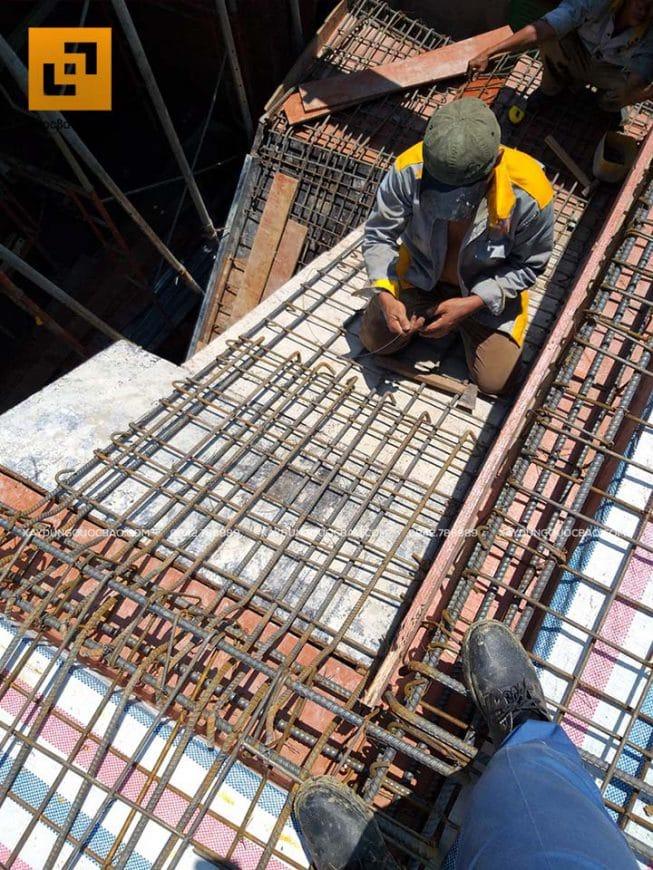 Thi công lắp đặt sắt cầu thang