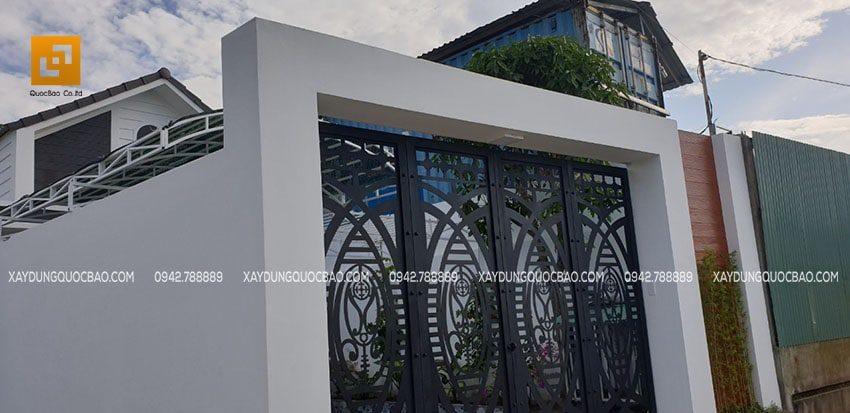 Ngôi nhà phố sau khi hoàn thiện tại Nhơn Trạch, Đồng Nai