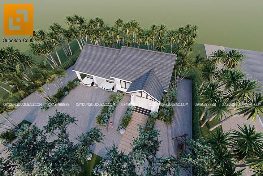 Ngắm nhìn ngôi biệt thự nhà vườn tại Biên Hòa, Đồng Nai