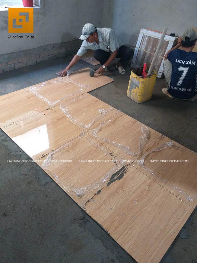 Ốp gạch men các phòng trong nhà