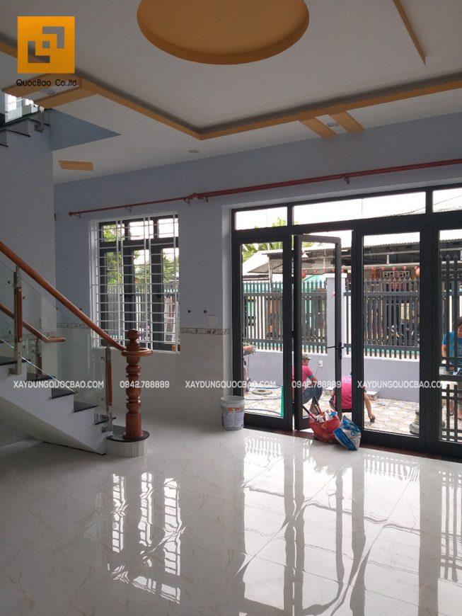 Bàn giao nhà phố hiện đại 2 tầng anh Thiện - Ảnh 5