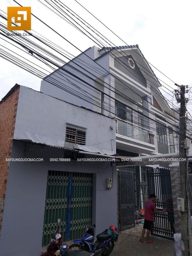 Bàn giao nhà phố hiện đại 2 tầng anh Thiện - Ảnh 2