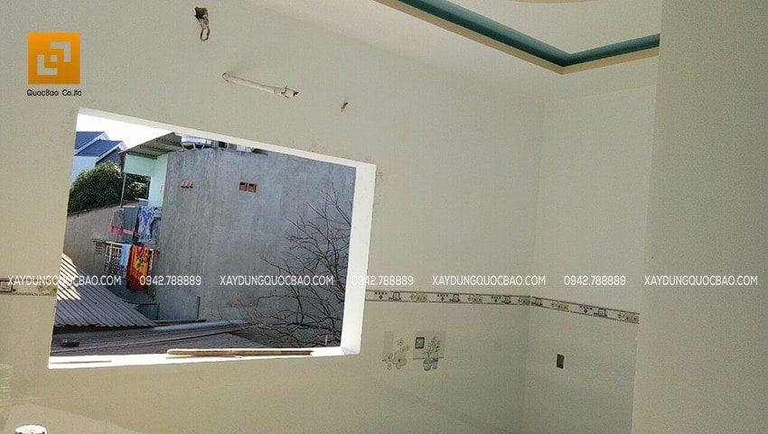 Trét bả matic và sơn lót nội thất các vách tường trong nhà