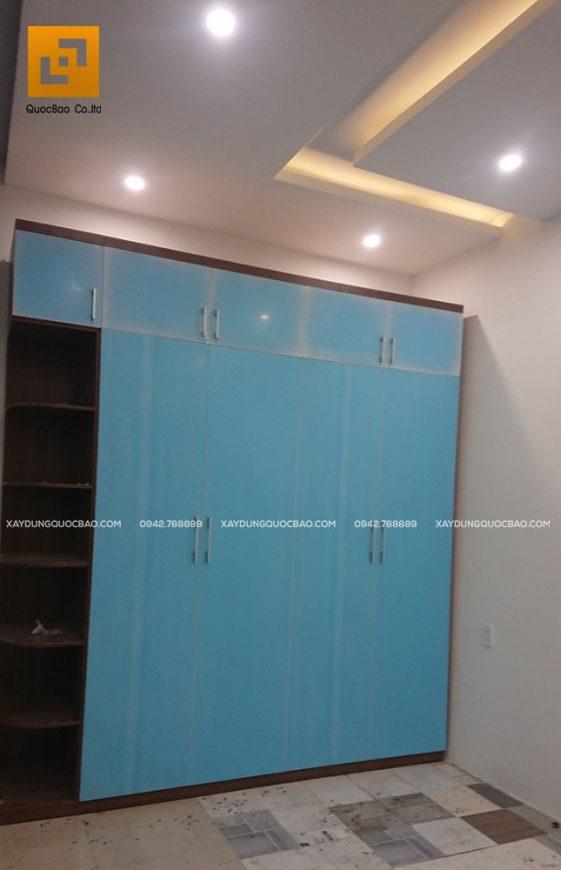 Lắp đặt tủ đựng quần áo trong phòng ngủ