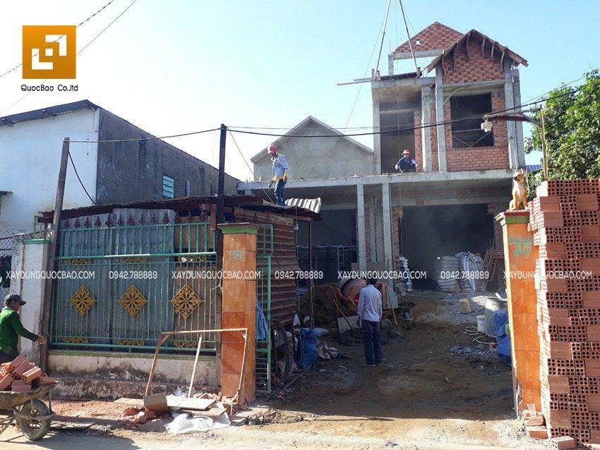Hoàn thiện giai đoạn thi công phần thô nhà cấp 4 và nhà phố 3 tầng