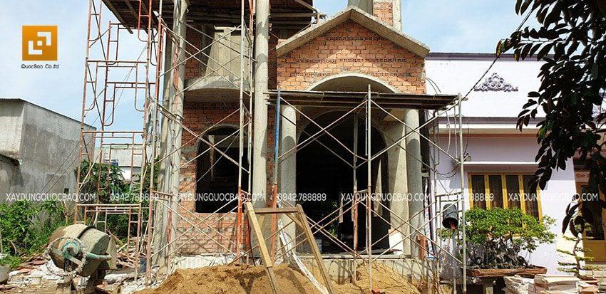 Vật liệu xây dựng được lựa chọn kỹ lưỡng từ các đơn vị cung cấp uy tín để đem lại công trình chất lượng