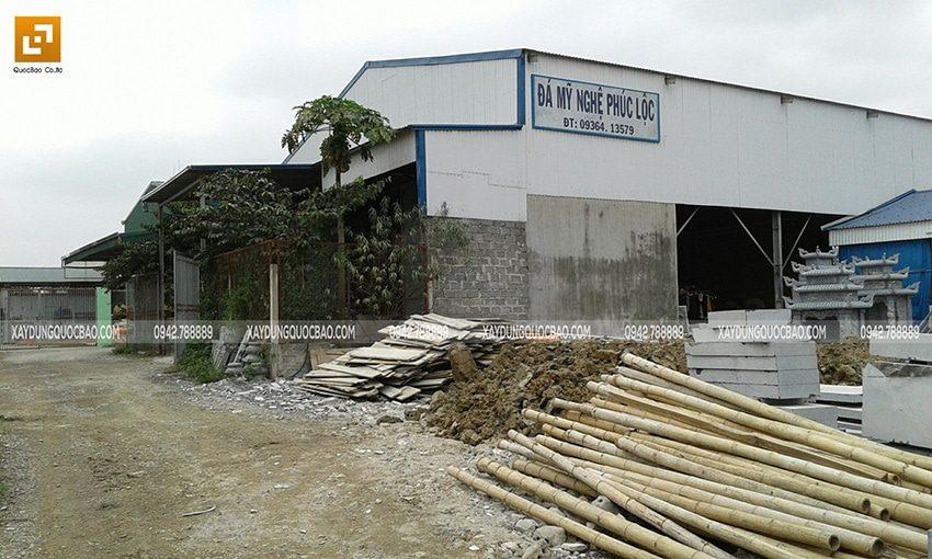 Khuôn viên khu đất cũ mà anh Lộc dự định xây dựng Biệt thự