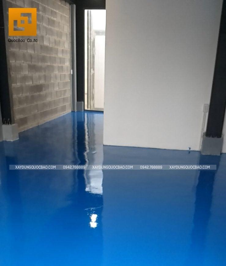 Thi công sơn công nghiệp Epoxy nền kho lạnh - Ảnh 10