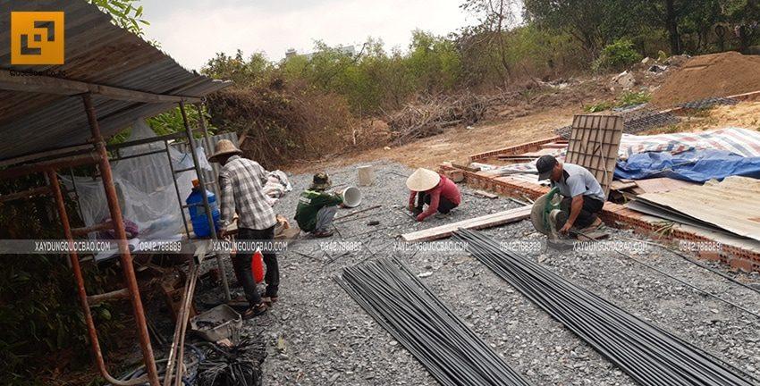 Khởi công xây dựng biệt thự nhà vườn 2 tầng chị Linh tại Nhơn Trạch - Ảnh 4