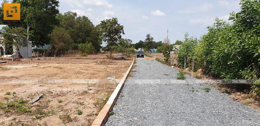 Khởi công xây dựng biệt thự nhà vườn 2 tầng chị Linh tại Nhơn Trạch - Ảnh 2