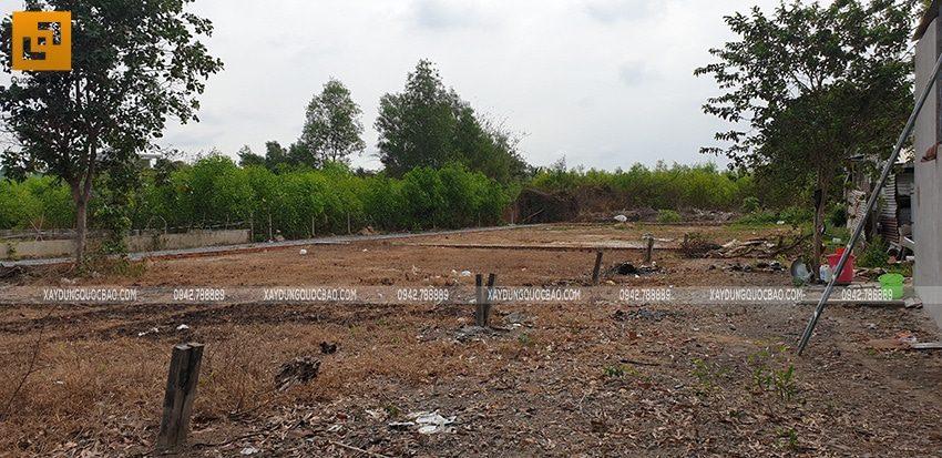Khởi công xây dựng biệt thự nhà vườn 2 tầng chị Linh tại Nhơn Trạch - Ảnh 1