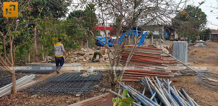Khởi công xây dựng biệt thự nhà vườn 2 tầng tại Vĩnh Cửu - Ảnh 8