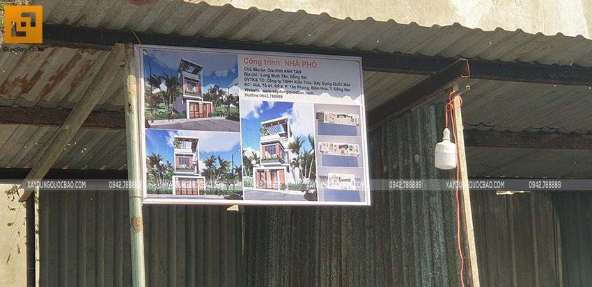 Khởi công xây dựng nhà phố 3 tầng hiện đại tại Biên Hòa - Ảnh 6