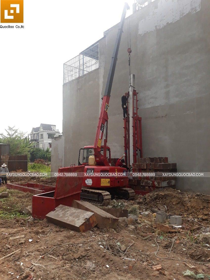 Khởi công xây dựng nhà phố 3 tầng hiện đại tại Biên Hòa - Ảnh 1