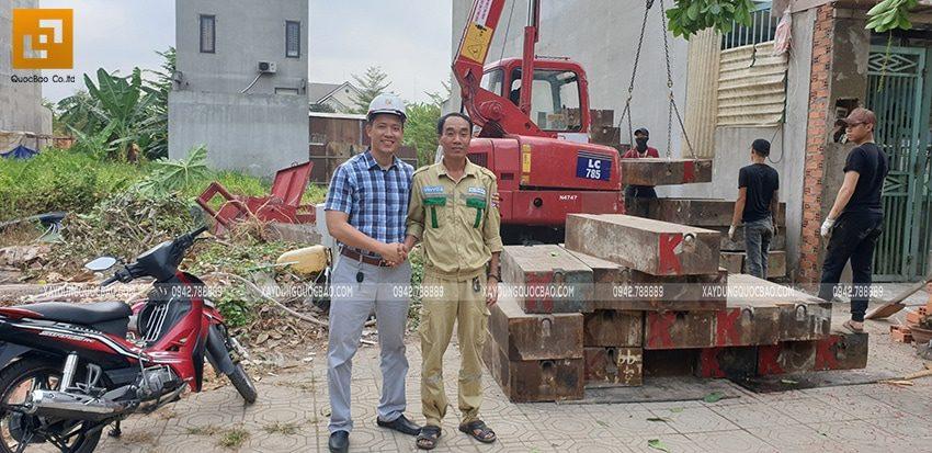 Khởi công xây dựng nhà phố 3 tầng hiện đại tại Biên Hòa - Ảnh 4