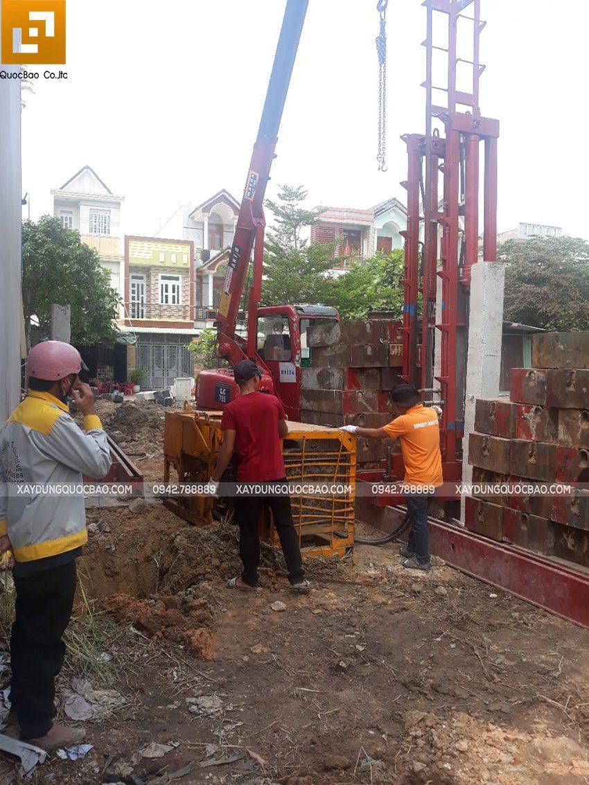 Khởi công xây dựng nhà phố 3 tầng hiện đại tại Biên Hòa - Ảnh 3